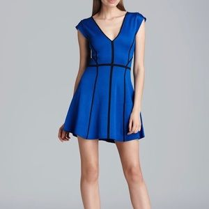 French Connection Knights Fit and Flare Dress